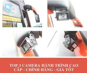 TOP 3 Camera Hành Trình Cao Cấp - Chính Hãng - Giá Tốt