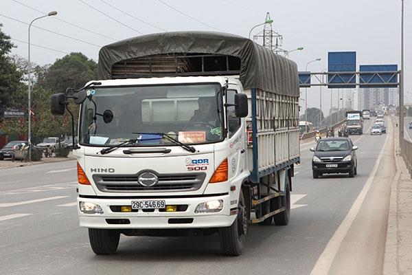 phù hiệu xe tải hợp chuẩn