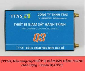 [TTAS] Nhà cung cấp THIẾT BỊ GIÁM SÁT HÀNH TRÌNH chất lượng - Chuẩn Bộ GTVT