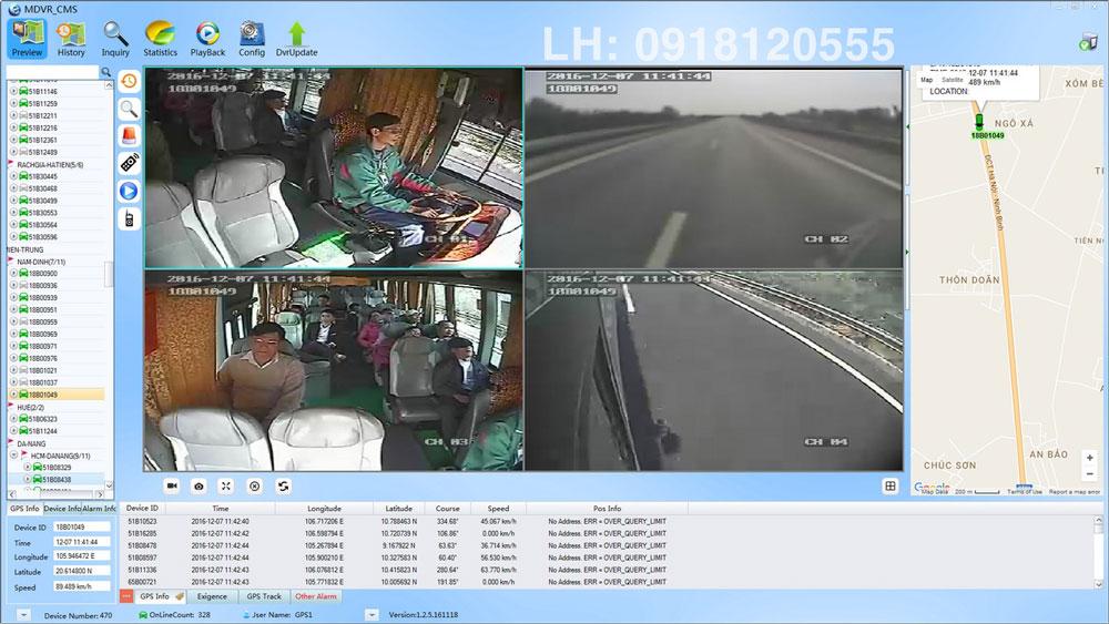phần mềm camera giám sát hành trình