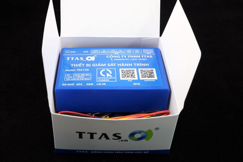 TAS100, thiết bị giám sát hành trình, thiết bị định vị