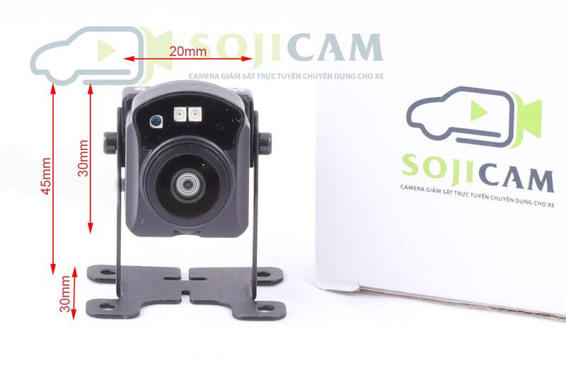 Camera hành trình Sojicam RD801, kích thước siêu nhỏ, góc quay siêu rộng