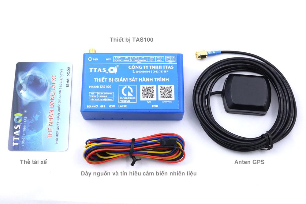 Bộ thiết bị giám sát hành trình TAS100