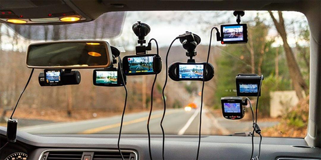 Một số loại camera hành trình, camera hành trình trên xe