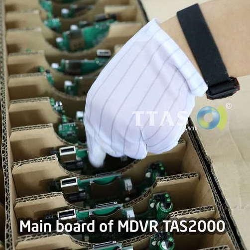 quy trình sản xuất camera giám sát xe