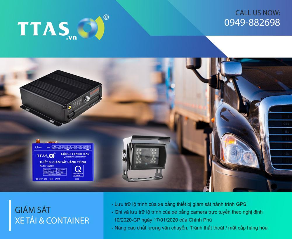 camera giám sát xe tải thùng, camera giám sát xe tải, camera giám sát xe công